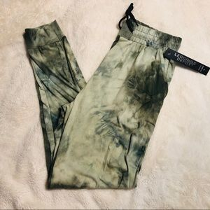 Tie Dye Green and Blue Joggers